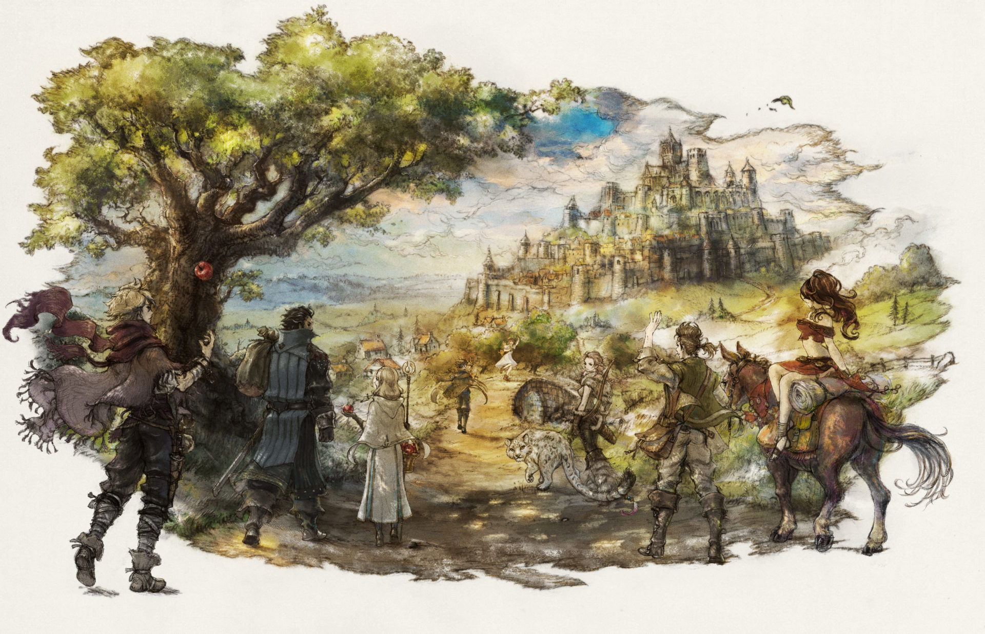 Staring Down the Octopath